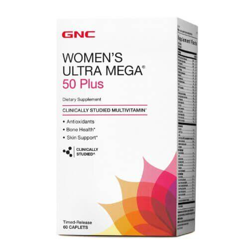 GNC Women's Mega 50 Plus 60 таб
