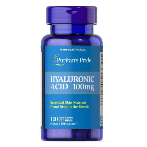 Puritan's Pride Hyaluronic Acid 100 mg 120 капсул