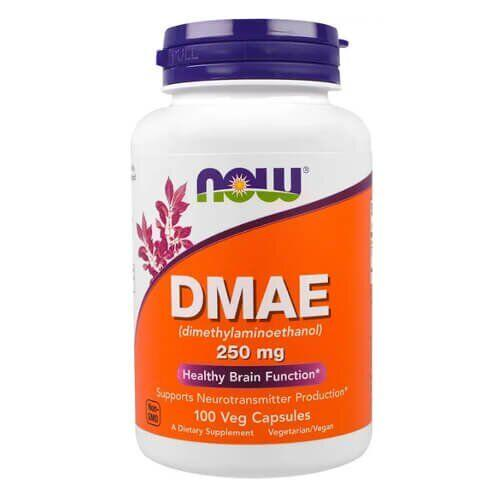 NOW DMAE 250 mg 100 капсул