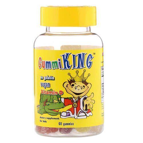 GummiKing Vitamin D for Kids 60 жевательных конфет
