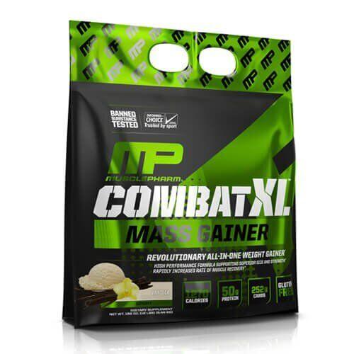 Гейнер, Muscle Pharm Combat XL Mass Gainer 5440 грамм, Шоколад