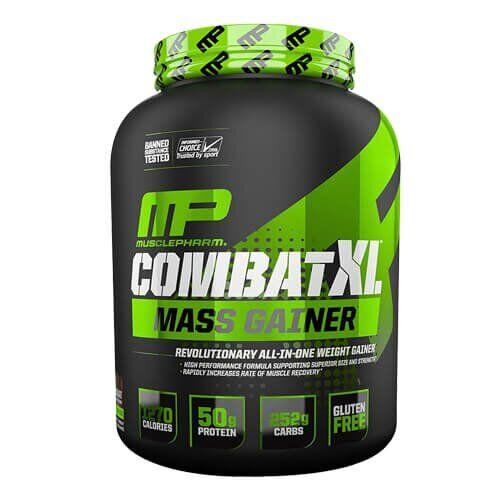 Гейнер, Muscle Pharm Combat XL Mass Gainer 2700 грамм, Шоколад