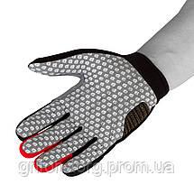 Робочі рукавички PowerPlay 6662 В Чорно-Червоні L, фото 3
