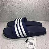 Мужские Шлепанцы Adidas adilette Cloudfoam Plus Stripes B42114 46 размер, фото 2