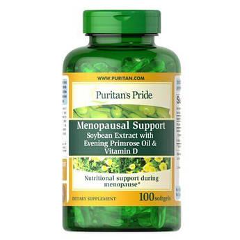 Витамины для женщин, Puritan's Pride Menopausal Support 100 жидких капсул