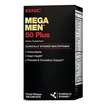 GNC Mega Men 50 Plus 120 таб