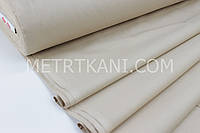 Ткань для постельного белья ранфорс бежевого цвета Турция 240 см № WH-0074-6