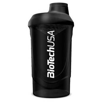 Biotech Wave Shaker 600 мл, Черный, Черный