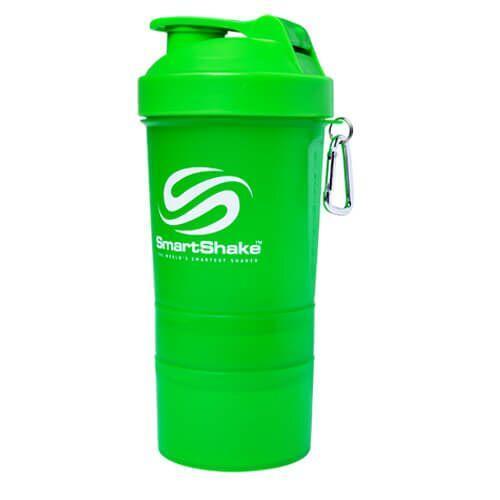 SmartShake NEON 400 мл, Зелёный, Зеленый
