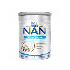 Безлактозна суміш NAN Безлактозний, 0+, 400г
