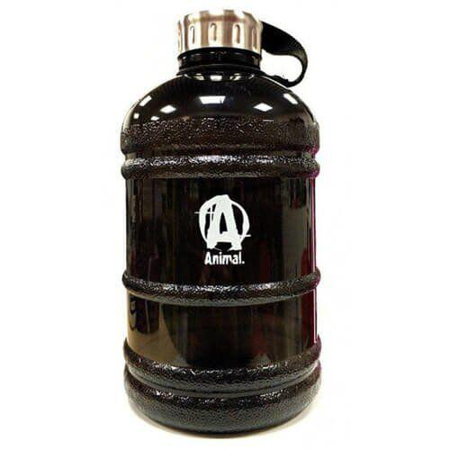 Gallon Water Bottle Animal 1.9L (Black)