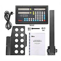 Комплект УЦИ DS20-2V и линеек DELOS 5 мкм для токарно-винторезного станка ТВ-320