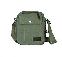 Сумка на плечо с множеством карманов (СК-2001) Зеленый
