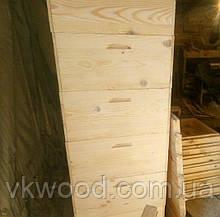 Вулик чотирьохкорпусний 10 рамок (230 мм) Улей четырёхкорпусный 10-ти рамочный (300 мм)