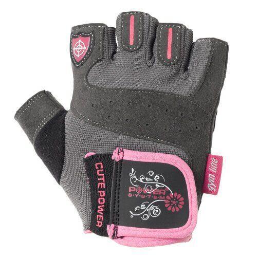 Перчатки Power System Cute Power PS-2560 розовые