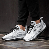 Мужские кроссовки Nike Air Max 720 в стиле найк аир макс белые  (Реплика ААА+), фото 4
