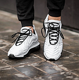 Чоловічі кросівки Nike Air Max 720 в стилі найк аір макс білі (Репліка ААА+), фото 6