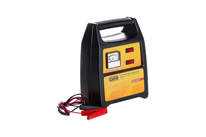 Зарядное устройство для авто 12А, 6/12В, до 160Ah (подходит на свинцово-кислотные АКБ) (стрелочный индикатор)