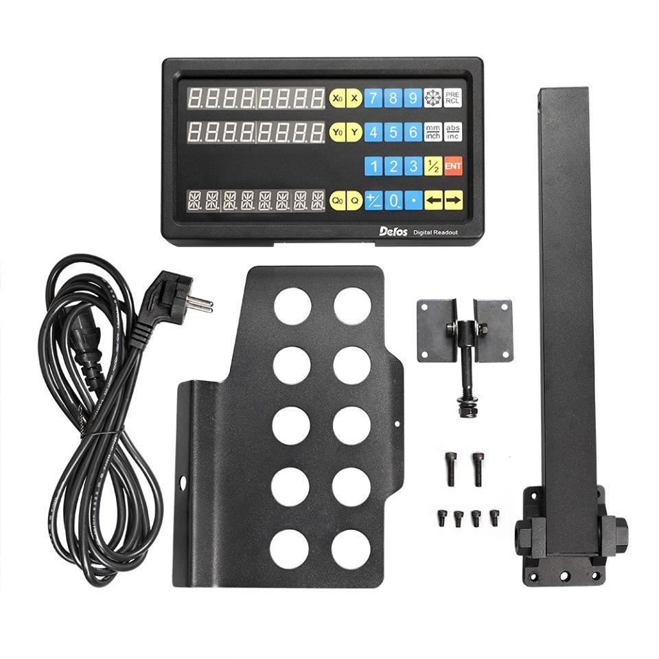Комплект УЦИ DS60-2V і лінійок DELOS 5 мкм для токарно-гвинторізного верстата ТВ-320
