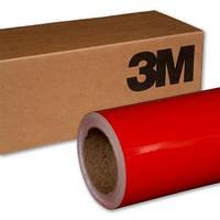 Красная блестящая глянцевая пленка 3М 1080 Gloss Hotrod Red , фото 1