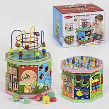 Деревянная игрушка Логический куб С 39189