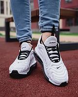 Женские кроссовки Nіke Аir Max 720 в стиле найк аир макс 720 белые (Реплика ААА+)