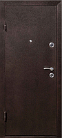 Дверь входная СТРАЖ Метал/МДФ Венге Левая 96смХ2050см №271 порошковая покраска ДОСТАВКА БЕСПЛАТНАЯ до подъезда