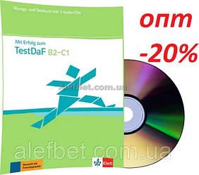 Немецкий язык / Подготовка к экзамену: Mit Erfolg zum TestDaF / Übungs+Testbuch+CD, B2-C1 / Klett