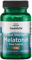 Мелатонин Здоровый сон 10 мг, 120 капс, Swanson
