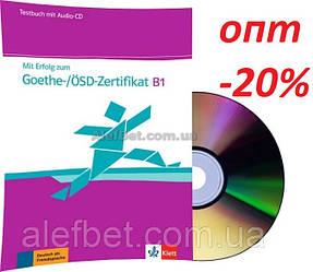 Немецкий язык / Подготовка к экзамену: Mit Erfolg zum Goethe-/ÖSD-Zertifikat B1, Testbuch+CD / Klett