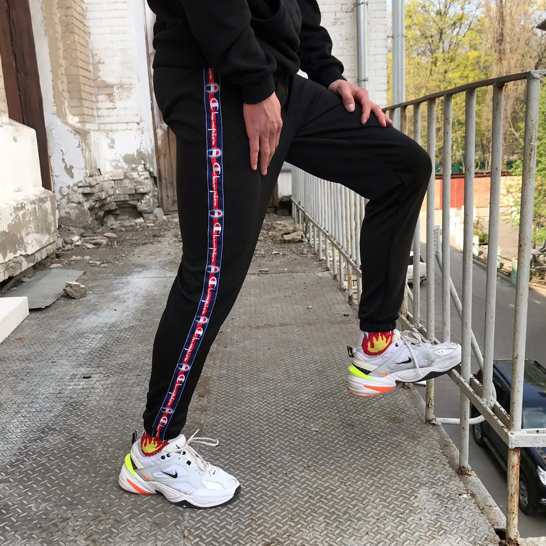 Спортивные штаны Champion Line черные(только S)