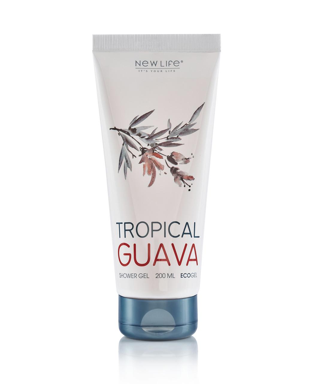 Гель для душа Tropical guava - Новая Жизнь