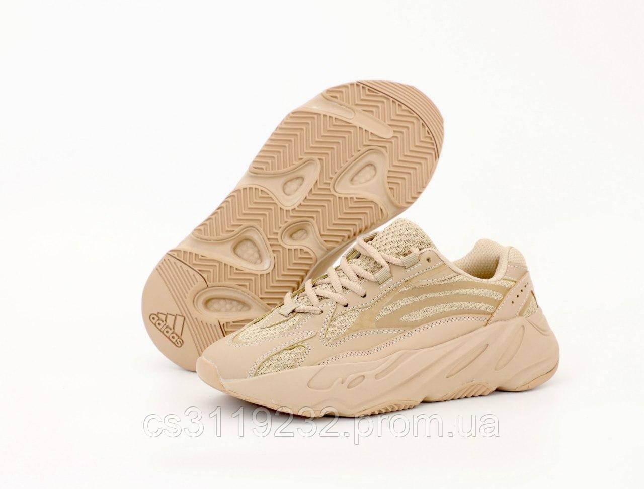 Женские кроссовки Adidas Yeezy Boost 700 Reflective Beige (бежевые)