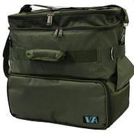 Рыбацкая сумка карповая VA R32, для катушек, для рыболовных снастей двух составная, Карпова сумка