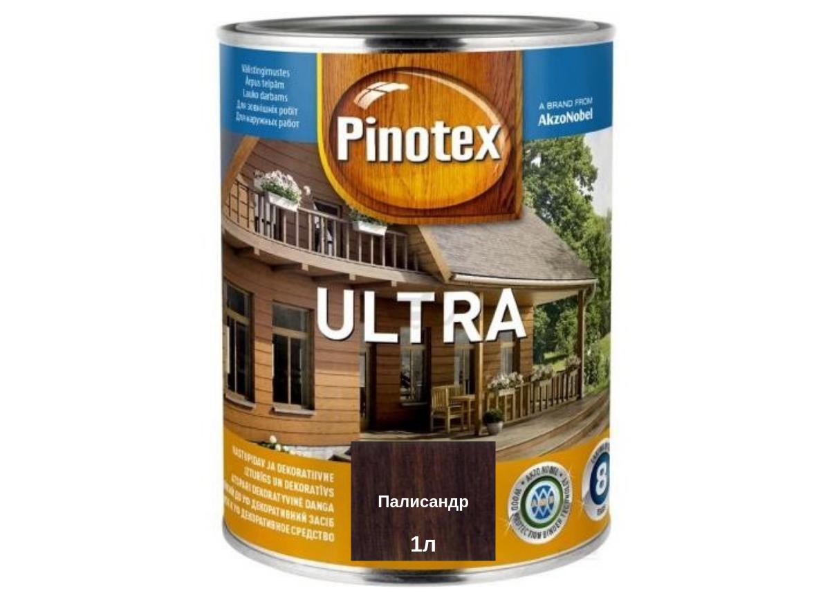 Деревозащитное средство Pinotex Ultra палисандр 1л