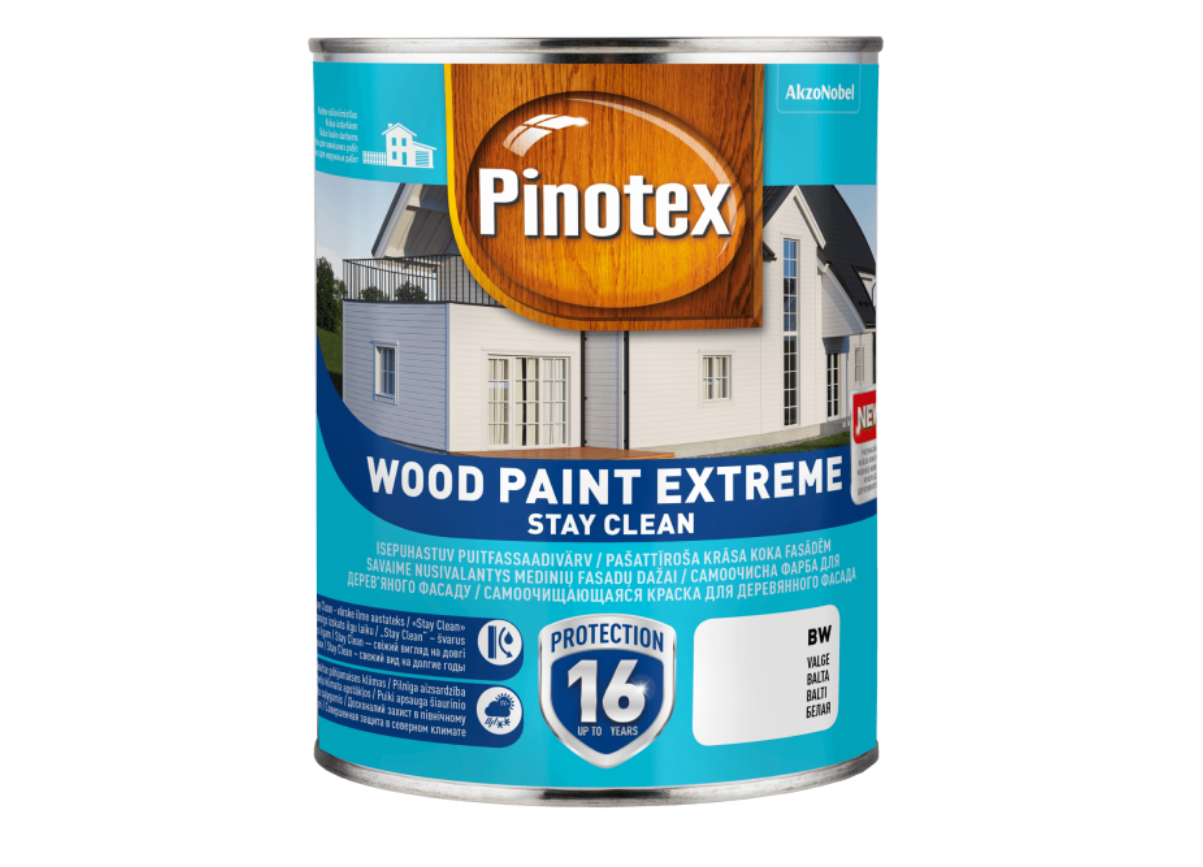 Краска на водной основе Pinotex Wood Paint Extreme 1л