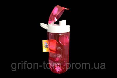Пляшка для води Smile SBP-2 560 мл. Розова, фото 2