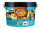 Краска на водной основе для деревянных фасадов Pinotex Wood Paint Aqua 9л, фото 2