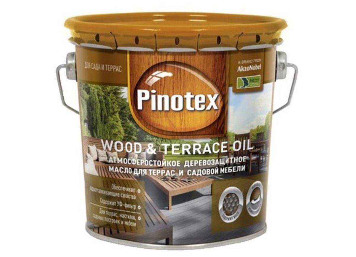 Масло для террас Pinotex Wood & Terrace Oil 3л