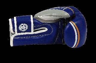 Боксерські рукавиці PowerPlay 3005 Сині 8 унцій, фото 2