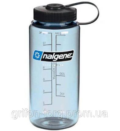 Пляшка для води Nalgene Wide Mounth Світло-Синя 500 мл., фото 2