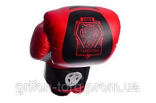 Боксерські рукавиці PowerPlay 3003 Червоно-Чорні 16 унцій, фото 3