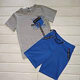 Костюм для мальчика футболка и шорты Размер 122, фото 2
