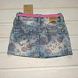 Джинсовая юбка для девочки Рост 140, фото 2