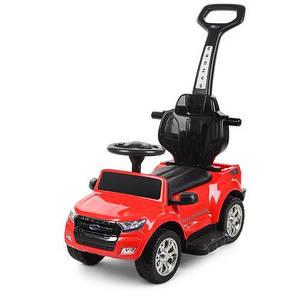 Толокар-машина електромобіль червоний Ford Ranger M 3575EL-3