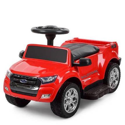 Толокар-машина электромобиль красный Ford Ranger M 3575EL-3, фото 2