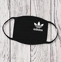 Многоразовая маска с принтом Adidas цветок женская,мужская