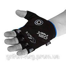 Велорукавички PowerPlay 5015 D Сині XS, фото 3