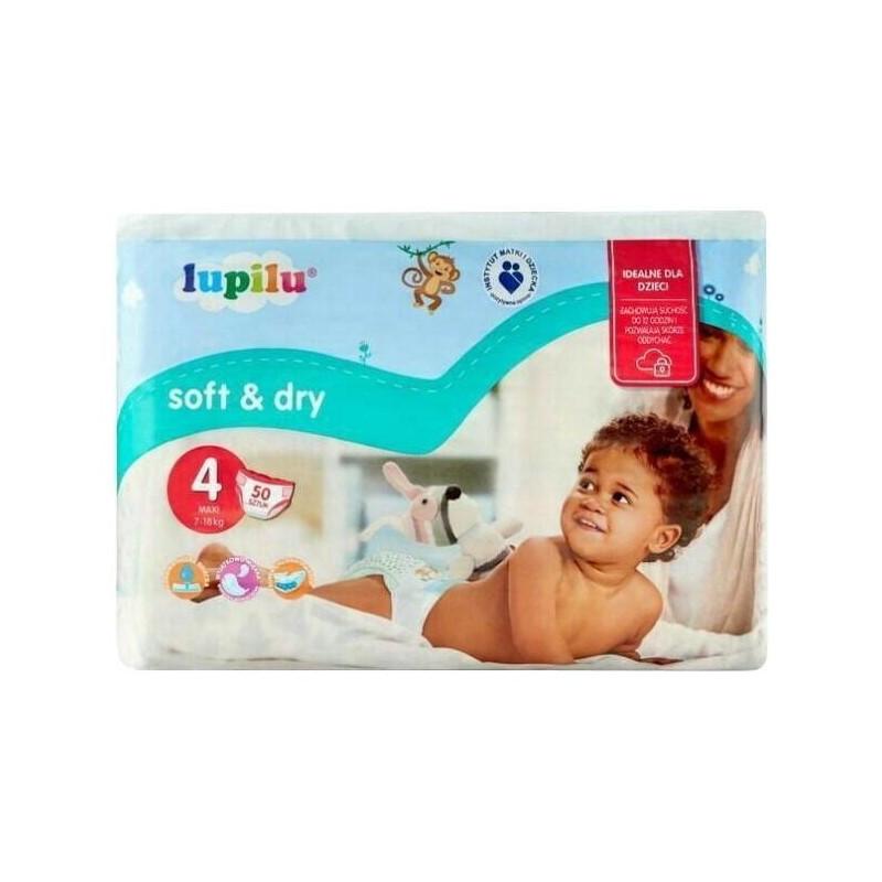 Підгузки Lupilu Soft & Dry 4 (8-16кг), 50шт