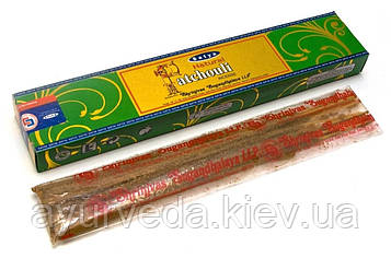 Благовония Patchouli Natural Satya 15 грамм